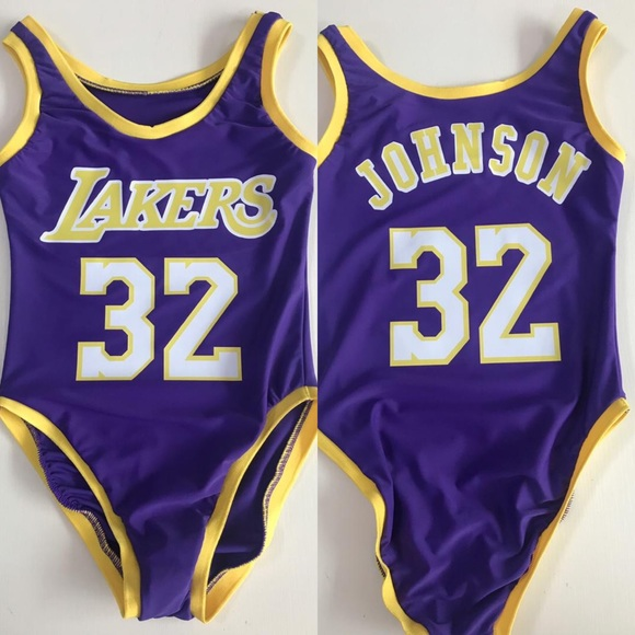 Other - MAGIC JOHNSON LAKERS BODYSUIT